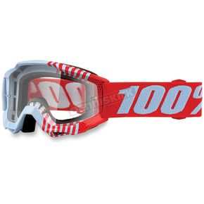 100% Accuri Youth Cupcoy Goggles w/Clear Lens - 50300-202-02