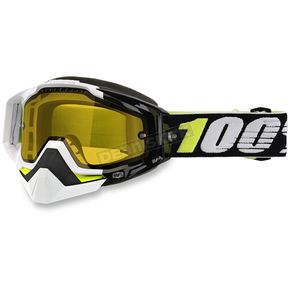 100% Racecraft Emara Snow Goggles w/Dual Yellow Lens - 50103-188-02