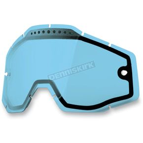 100% Blue Dual Vented Replacement Lens for Racecraft/Accuri/Strata Snow Goggles - 51006-002-02