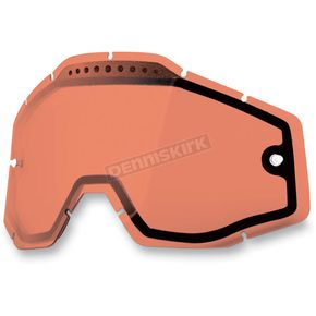 100% Rose Dual Vented Replacement Lens for Racecraft/Accuri Snow Goggles - 51006-016-02