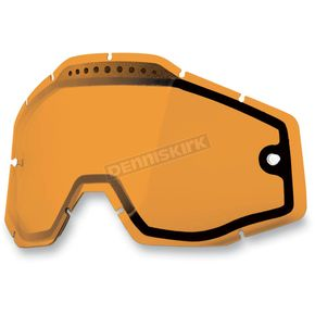 100% Persimmon Dual Vented Replacement Lens for Racecraft/Accuri/Strata Snow Goggles - 51006-046-02