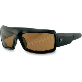 Bobster Trike Sunglasses w/Amber Lens - ETRI001A