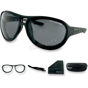 Bobster Matte Black Criminal Street Series Sunglasses - ECRI001