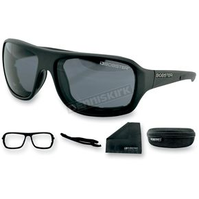 Bobster Matte Black Informant Street Series Sunglasses - EINF001