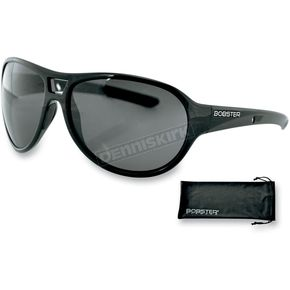 Bobster Shiny Black Criminal Street Series Sunglasses - ECRI001AR