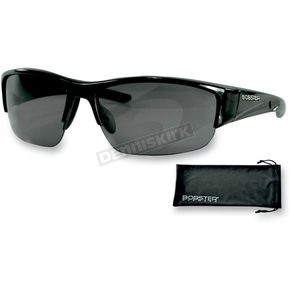 Bobster Shiny Black Ryval Street Series Sunglasses - ERYV001AR