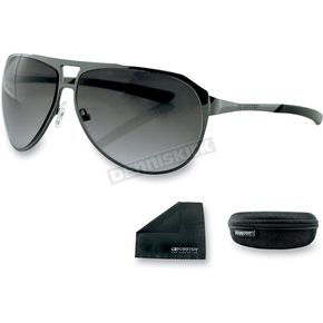 Bobster Dark Gunmetal Snitch Street Series Sunglasses - ESNI003AR