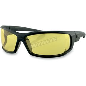 Bobster AXL Sunglasses w/Yellow Lens - EAXL001Y