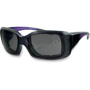 Bobster Purple Womens Ava Convertible Sunglasses/Goggles - BAVA401