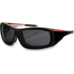 Bobster Black/Red Zoe Convertible Sunglasses/Goggles - BZOE301