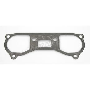 Cometic Lower Left Rubber-Coated Steel Rocker Box Gasket - .020 in. - C9563