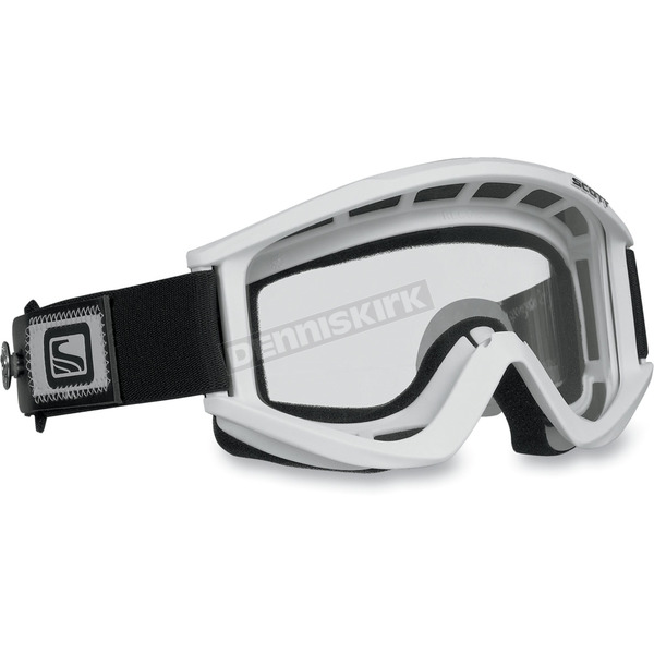 Scott White Recoil Xi Speed Strap Goggles w/Clear Standard Lens - 217797-0002041