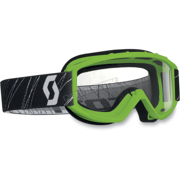 Scott Green Model 89Si Youth Goggles w/Clear Standard Lens - 218158-0005043