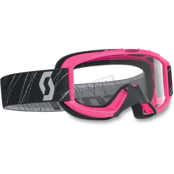 Scott Pink Model 89Si Youth Goggles w/Clear Standard Lens - 218158-0006043