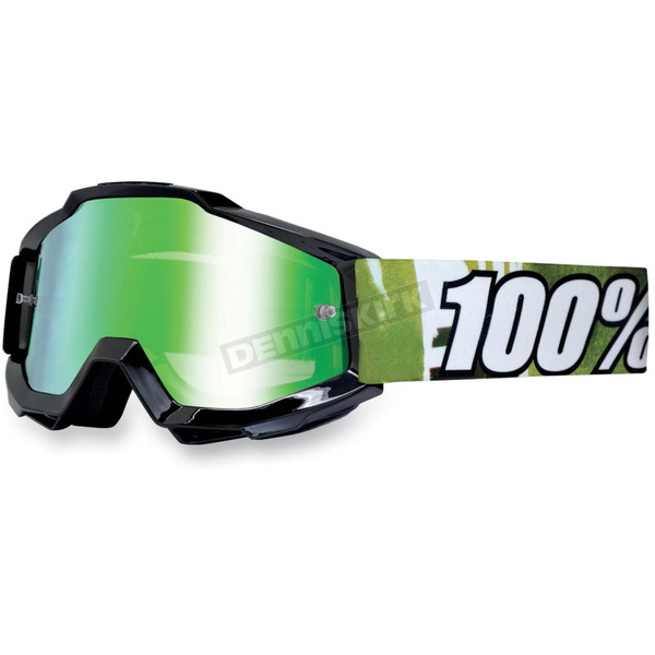 100% Youth Black Subway Accuri Goggles  - 50310-039-02