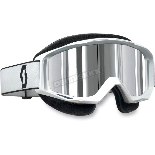 Scott Tyrant Snowcross Goggles w/ Thermal Silver Chrome Lens - 227389-0002015