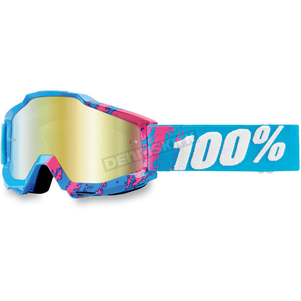 100% 90s Galore Accuri Goggles w/Mirror Gold Lens - 50210-056-02