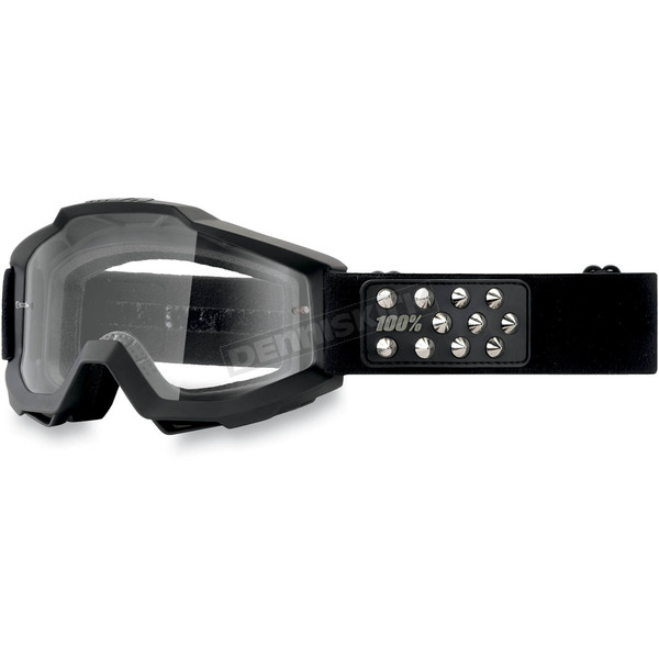 100% Rollerball Accuri Goggles w/Clear Lens - 50200-057-02