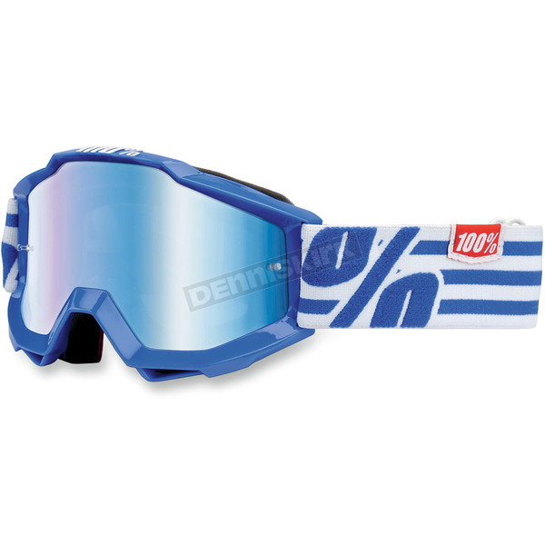100% Blue Youth Accuri Nimitz Goggles  - 50310-062-02