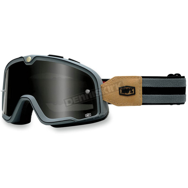 100% Gray Barstow Legend Goggles - 50001-021-02