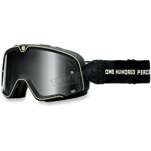 100% Black Barstow Classic Goggles - 50002-088-02
