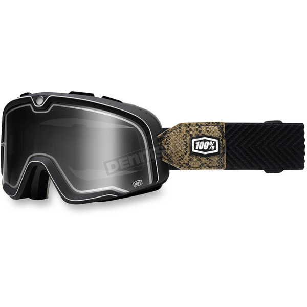 100% Barstow Legend Snake River Goggle w/Smoke Lens - 50002-125-02