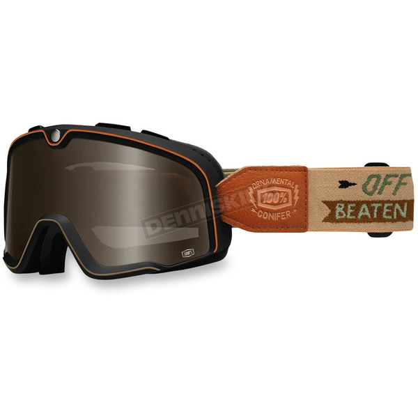 100% Barstow Legend Ornamental Conifer Goggle w/Silver Lens - 50002-128-02