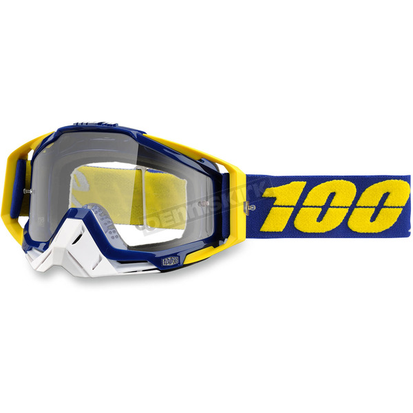 100% Racecraft Lindstrom Goggle w/Clear Lens - 50100-129-02