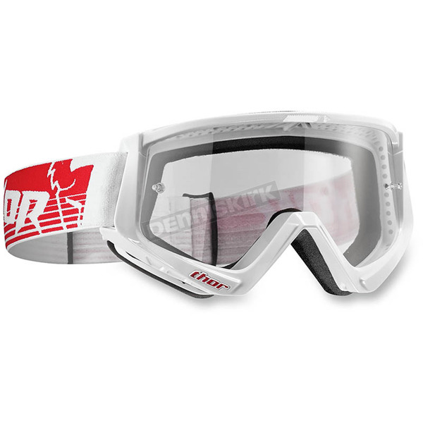 Thor Red/White Conquer Goggles - 2601-1927