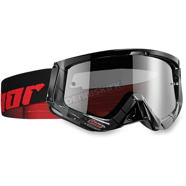 Thor Black/Red Sniper Chase Goggles - 2601-1935