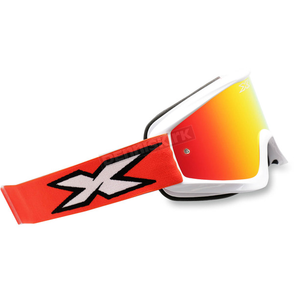 EKS Brand Red/White X-Fade Phantom Goggles - 067-10235