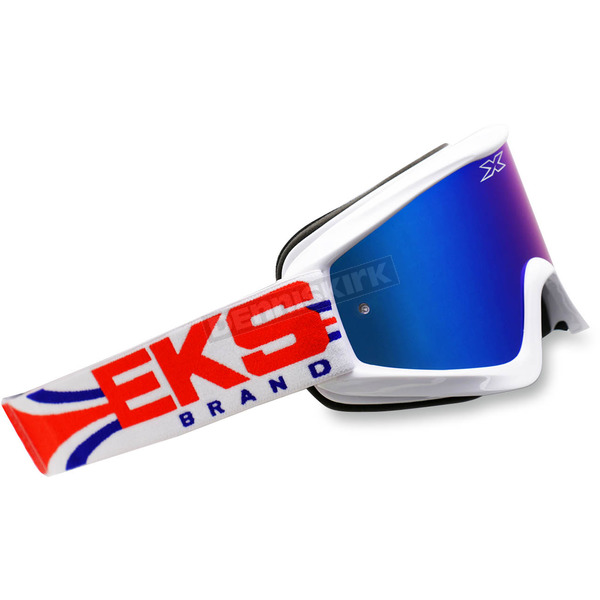 EKS Brand Red/White/Blue GOX Limited-X Goggles - 067-10750