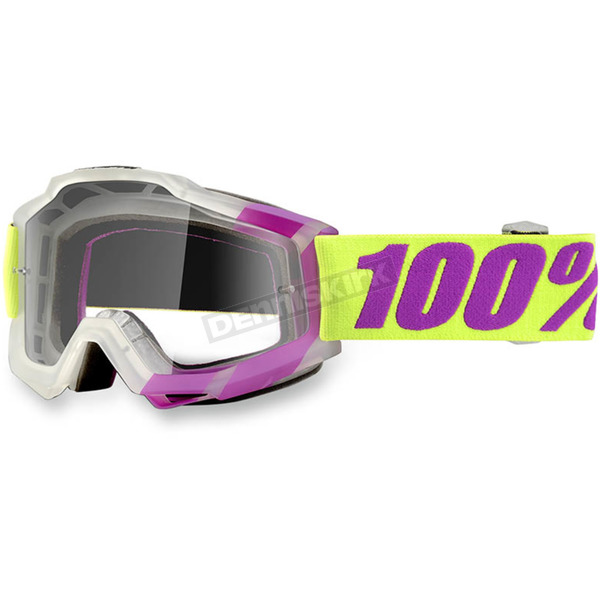 100% Tootaloo Accuri Goggles w/Clear Lens - 50200-172-02