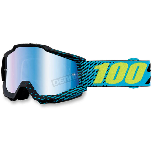 100% Accuri R-Core Goggles w/Mirror Blue Lens - 50210-201-02
