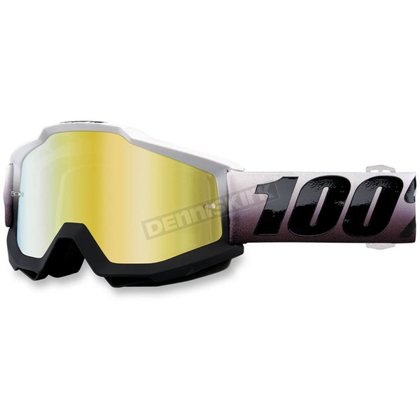 100% Accuri Invaders Goggles w/Mirror Gold Lens - 50210-204-02