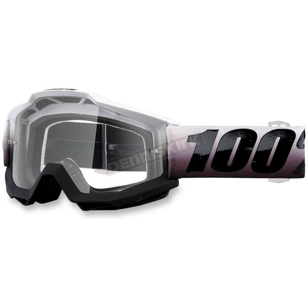 100% Accuri Invaders Goggles w/Clear Lens - 50200-204-02