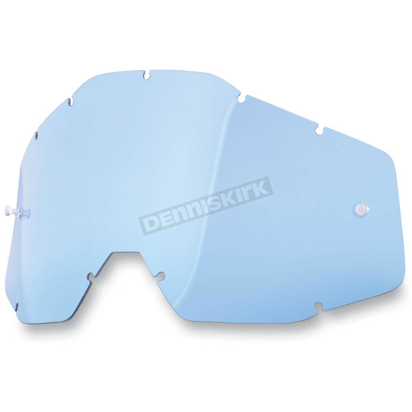 100% Blue Racecraft/Accuri/Strata Replacement Lens - 51001-002-02