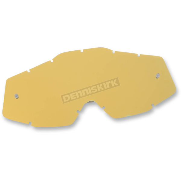 100% Gold Mirror Replacement Lens for Youth Accuri Goggles  - 51003-009-02