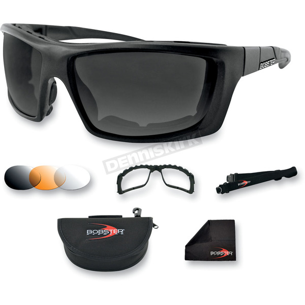 Bobster Trident Convertible Polarized Sunglasses/Goggles - BTRI101