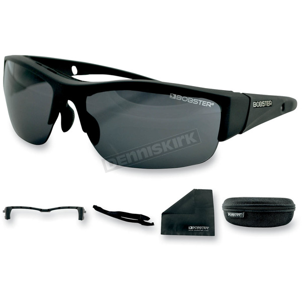 Bobster Matte Black Ryval Street Series Sunglasses - ERYV001