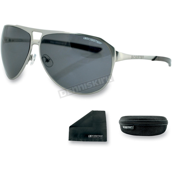 Bobster Silver Snitch Street Series Sunglasses - ESNI001AR