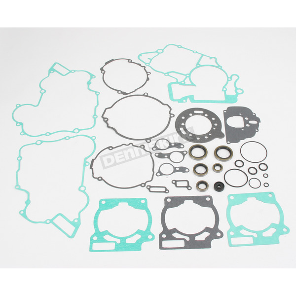 Moose Complete Gasket Set with Oil Seals - 0934-0108