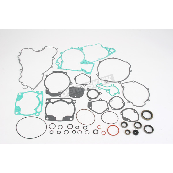 Moose Complete Gasket Set with Oil Seals - 0934-0109