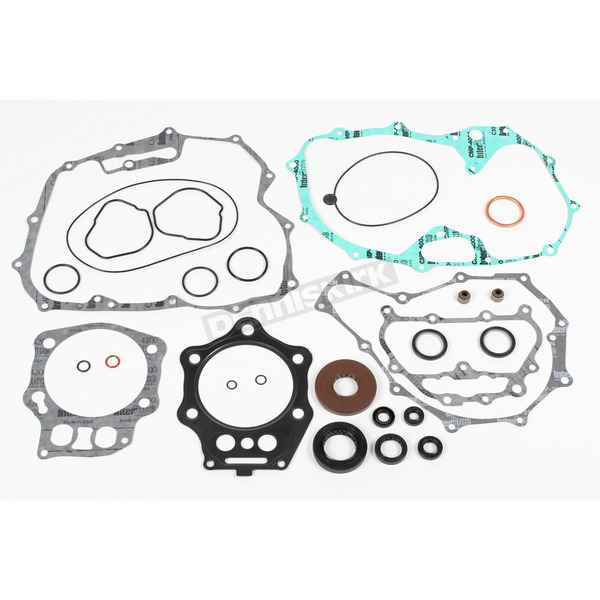 Moose Complete Gasket Set with Oil Seals - 0934-0708