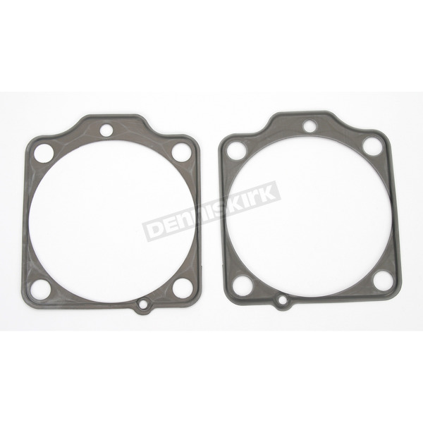 Cometic Viton-Coated Steel Base Gaskets w/3 5/8 in. big bore (S&S cylinders), .020 in. - C9989