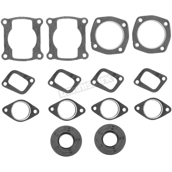 Winderosa 2 Cylinder Complete Engine Gasket Set - 711173