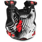 White/Black/Red Mask Wrap Sentinel XP Roost Guard - 2701-0664