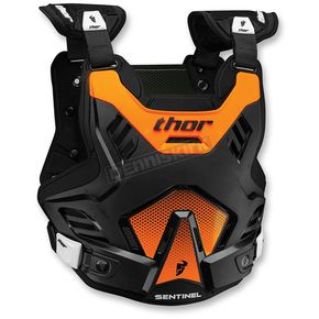 Thor Black/Orange Youth Sentinel GP Roost Deflector - 2701-0762