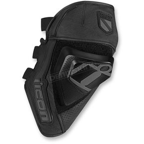 Icon Black Cloverleaf Knee Slider - 2704-0332