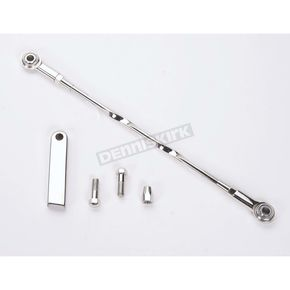 Landmark Twisted Design 12 1/8 inch Stainless Steel Shift Linkage - LM200-6F